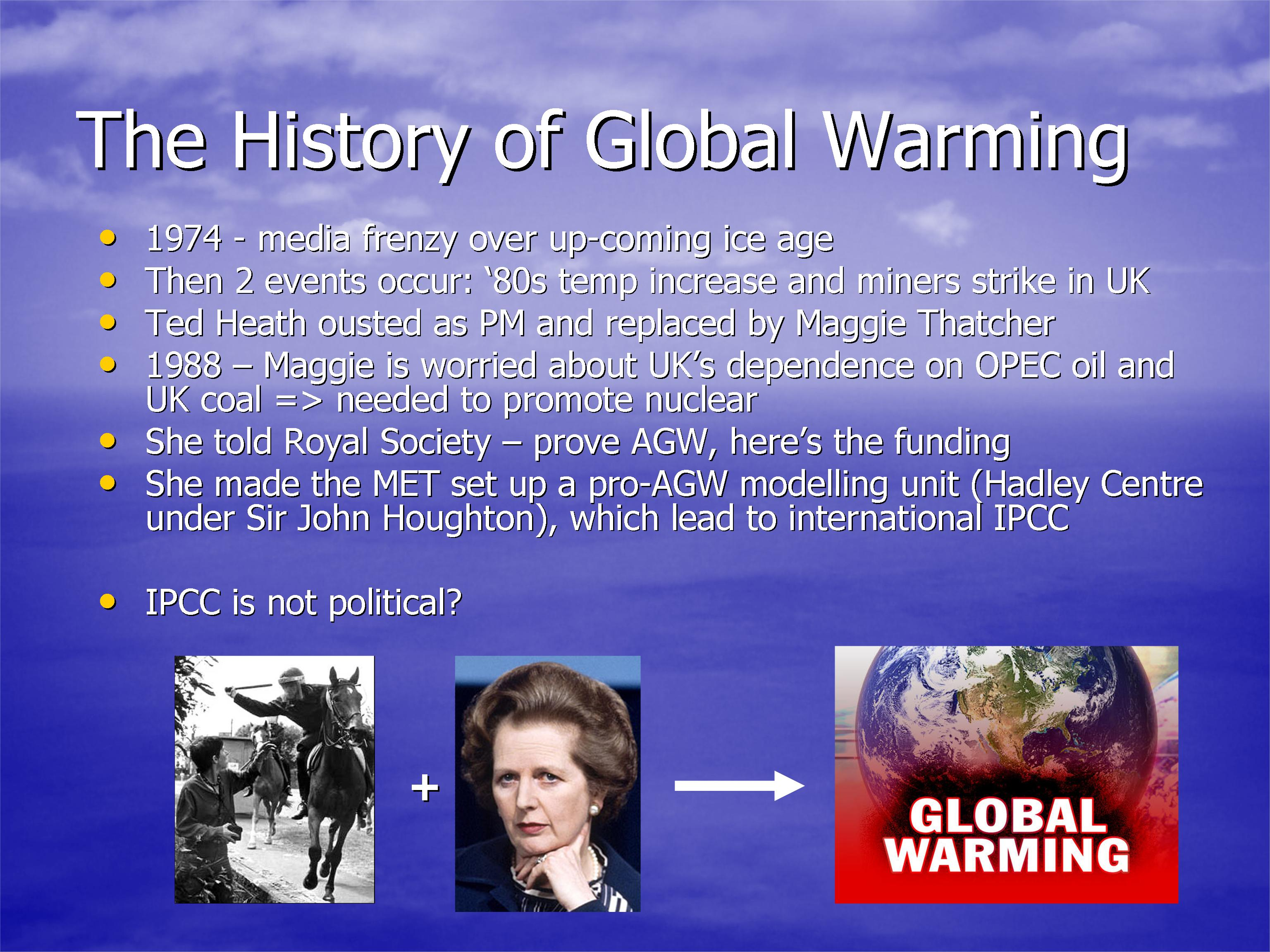 a brief look at global warming This is part of my lis 101 lecture series i will teach the information/media literacy component of a 12-hour superclass on global warming i will teach research skills and provid.